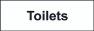 Toilet Sign (300 x 100mm)