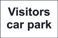 Visitors Car Park Sign (200 x 300mm)