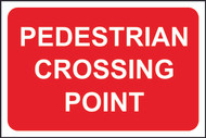 Pedestrian Crossing Point FMX Sign (400 x 600mm)