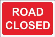 Road Closed FMX Sign (400 x 600mm)