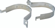 Round Sign Post Clips (Per Pair)