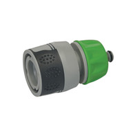 """Soft-Grip Water Stop Hose Quick Connector 1/2"""" Female"""