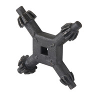 10 & 13mm 4-Way Universal Chuck Key