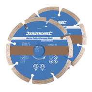 115 x 22.23mm Segmented Rim Mortar Raking Diamond Blade (Per 2)