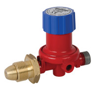 Silverline Adjustable Propane Gas Regulator 500 - 4000mbar