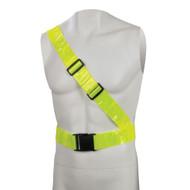 Silverline Hi-Vis Reflective Sash Belt PVC