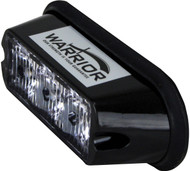 Warrior 3 LED Surface-mount Anmber Flashing Light head