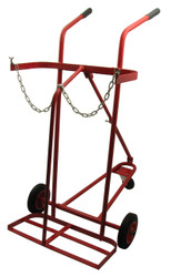 Oxy/Acetylene Cylinder Trolley Three Wheel
