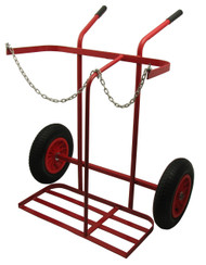 Oxy/Propane Large Wheel Cylinder Trolley