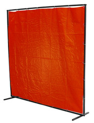 "Complete 8"" x 6"" Welding Curtain Kit"