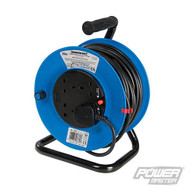 Cable Reel 240V 4 Socket 25m Freestanding Reel