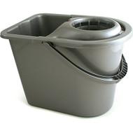 Draper 12 Litre Plastic Mop Bucket & Wringer