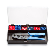 Insulated Terminal Kit 2, Crimp Tool and Assorted Crimp Terminals