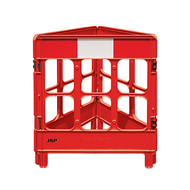 JSP Workgate® 3 Gate with Reflectives - Red/White