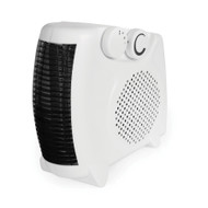 Rhino 2KW Small Fan Heater White