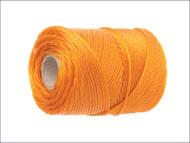 Orange Polyethylene Heavy-Duty Brick Line 250m