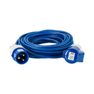 230V 32A 2.5mm Cable 25M Extension Lead