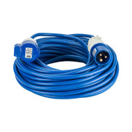 16A 2.5mm Cable 25M Extension Lead