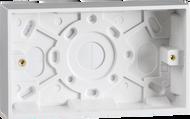 Double White Pattress Box