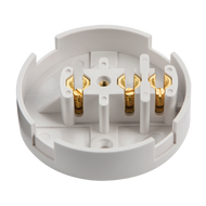 30 Amp Junction Box With 3 Terminals (White)
