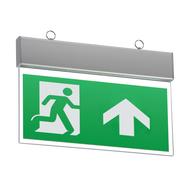 230V IP20 Ceiling Mounted LED Emergency Exit Sign