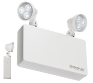 Knightsbridge 230V IP20 6W LED Twin Spot Emergency Light