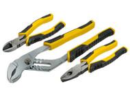 Stanley Control Grip Plier Set of 3