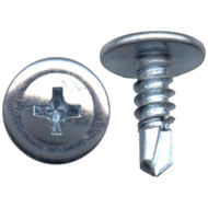 Self-Drilling Wafer Head Drywall Screws BZP (Box Of 1000)