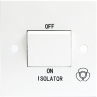 Standard 10A 3 Pole Fan Isolator Switch