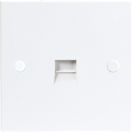 Standard Flush telephone extension socket (IDC)
