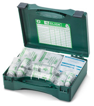 Click 20 Person Boxed First Aid Kit