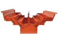 Bahco Metal Cantilever Tool Box 22in Orange