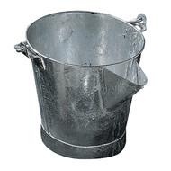 V-Lip Metal Galv Tar Bucket