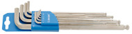 Unior Set of 1.5 - 10mm Ball End Hexagon Wrenches, Long Type