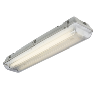 240V IP65 2x36W HF Twin Non-Corrosive Fluorescent Fitting