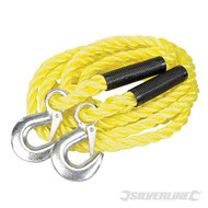 Silverline Tow Rope, 2 Tonne Rated