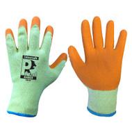 Orange Latex General Builders Handling Gloves