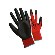 Pred Red PU Light Weight Handling Gloves (Large)