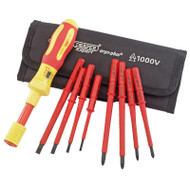 Draper 9 Piece Ergo Plus VDE Torque Screwdriver Set