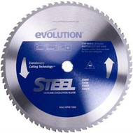 Evolution 355mm x 25.4mm Blade For Cutting Steel