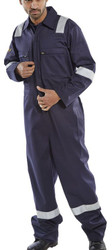 Click Navy Flame Retardant Anti-Static Burgan Boiler Suit