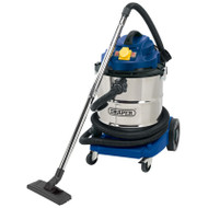 Draper 50L 1500W  Wet and Dry Vacuum Cleaner 110v