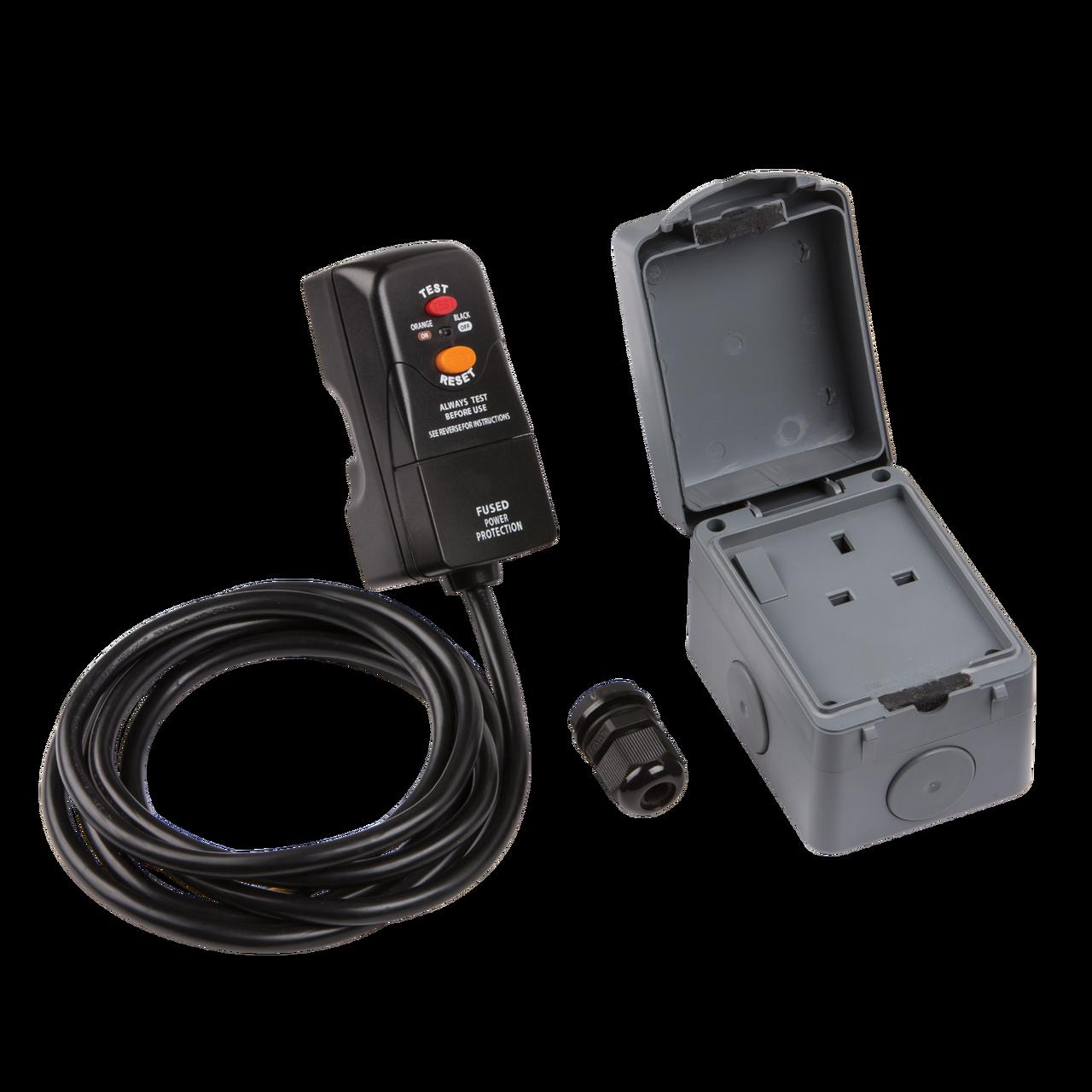 IP66 (Outdoor) 13a Outdoor Socket Kit - Marshall Industrial Supplies