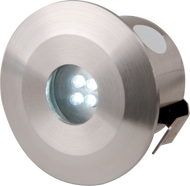 IP44 Stainless Steel LED Decking Light Kit (4 Head)