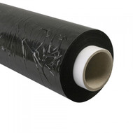 500mm Wide x 250m Long Black Pallet Rap (Shrink Rap) Per Roll
