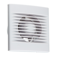 "100mm/4"" Extractor Fan With Overrun Timer (White)"