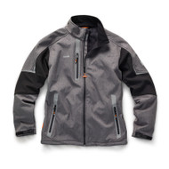 Scruffs Pro Softshell Jacket - Grey