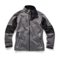 Scruffs Pro Softshell Jacket Charcoal