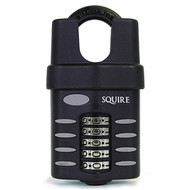 Squire CP60 C/S 60mm Combination Padlock Closed Shackle