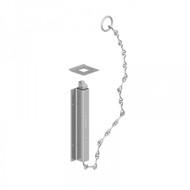 """(8"""") 200mm Chain Bolt Zinc"""